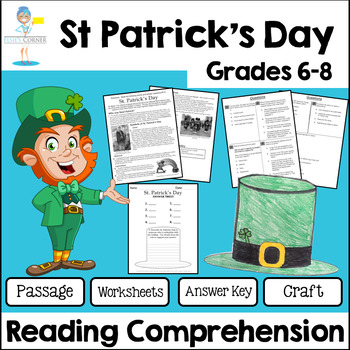 St. Patrick's Day Reading Comprehension - Informational Te