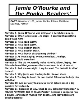 St. Pat's Day Readers' Theater  Luck of the Irish Riddle P