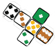 St. Pat's Lucky Counting Dice Clip Art Set {Messare Clips