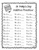 St. Patty's Day Addition Practice - St. Patrick's Day Math
