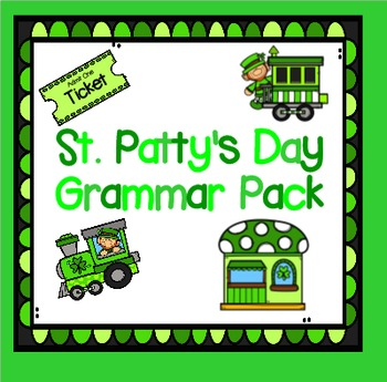 St. Patty's Day Grammar Pack