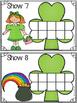 St. Patty's Fun Ten Frames Puzzles & Playdoh Math Centers