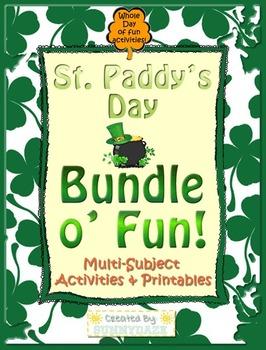 St. Patrick's Day Math & ELA