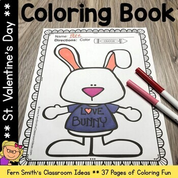 Coloring Pages for St. Valentine's Day