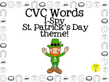 St.Patrick's Day I-spy CVC words