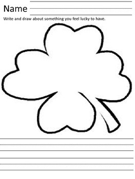 St.Patrick's Day - Writing Activity