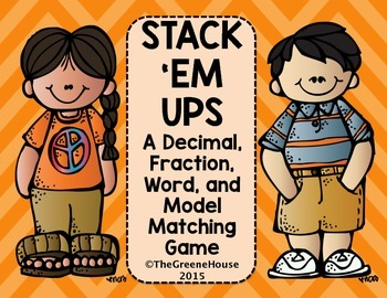 Stack 'Em Ups Matching Game