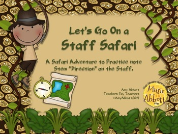 Staff Safari: Teaching the Lines and Spaces add-on set
