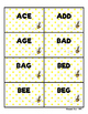 Musical Staff Spelling Bee