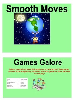 Stage 2 Science Smooth Moves Smartboard Pages