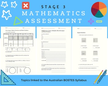 Stage 3 (5th & 6th Grade) Math Assessment