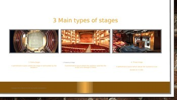 Stage Orientation for the Actor Unit Slideshow