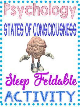 Stages of Sleep Foldable Psychology