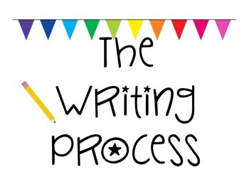 Stages of Writing Chart