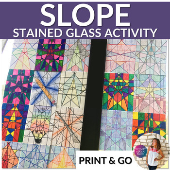 Stained Glass Slope: Graphing Linear Equations In Slope-In