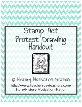 Stamp Act Protest Drawing Handout