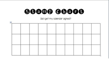Stamp Chart Incentive