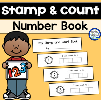 Stamp & Count Book 1-10 {FREEBIE}