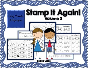 Stamp It 3 {Long Vowels & Digraphs}