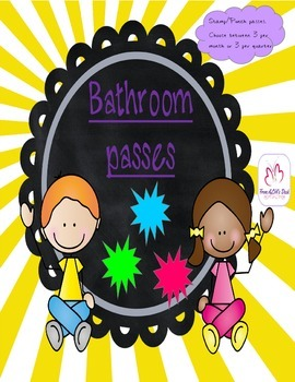 Stamp/Punch Bathroom Passes