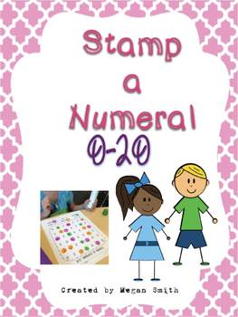 Stamp a Numeral 0-20