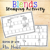 Blends - Stamp It Out - Words with Blends