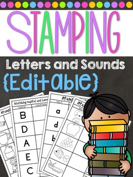 Stamping Center - Letters and Sounds - CVC