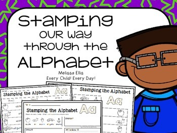 Stamping Our Way Through the Alphabet