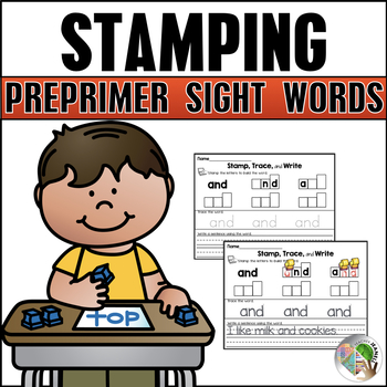 Sight Words Stamping (Pre-Primer List)