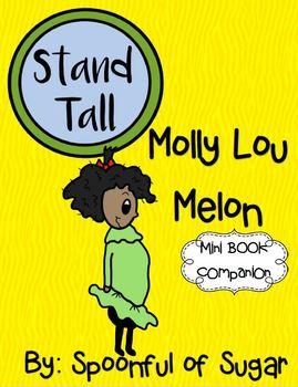 Stand Tall, Molly Lou Melon (A Mini Book Companion)