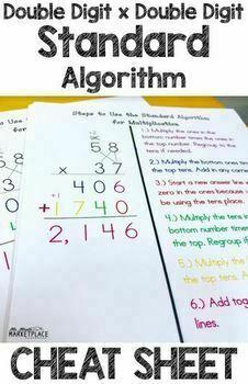 Standard Algorithm of Double Digit x Double Digit Multipli