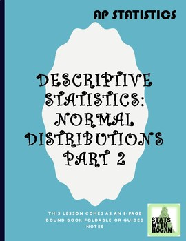 Normal Distributions Part 2: Standard Normal Distributions