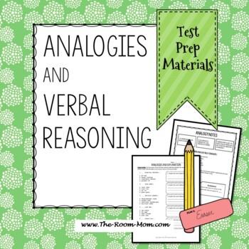 Standardized Test Prep, Analogies, Verbal Reasoning