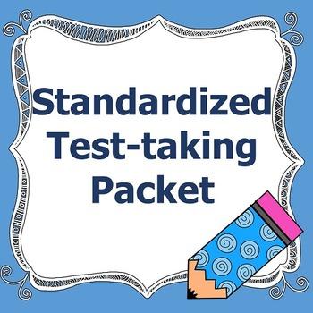 Standardized Test Taking Packet