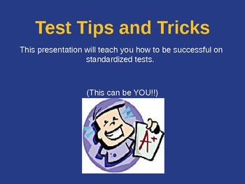 Standardized Test Tips and Tricks