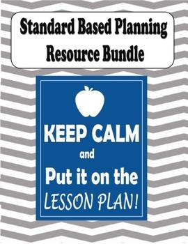 Standards Based Curriculum Planning Tools Bundle
