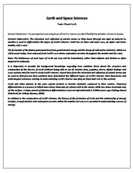 Standards Based Gradbook for 8th grade based on Ohio standards