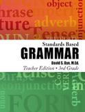 Standards Based Grammar: Grade 3 Soft Cover