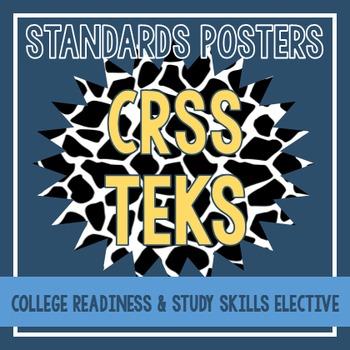 Standards Posters - College Readiness & Study Skills TEKS
