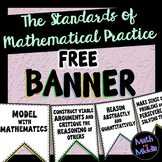 Standards of Mathematical Practice FREE Banner
