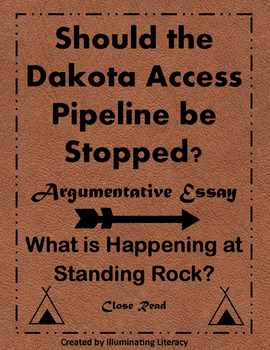 Standing Rock: The Dakota Access Pipeline. A Close Read &