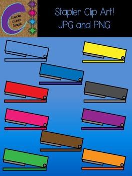 Stapler Clip Art Color Images Designs