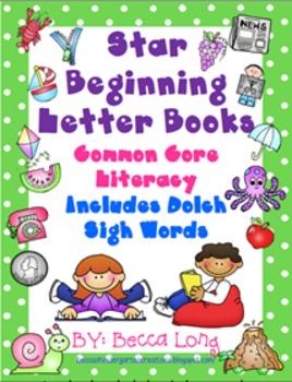 Star Beginning Letter Books