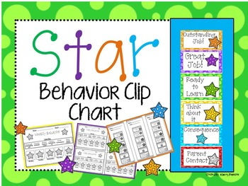 Star Behavior Clip Chart