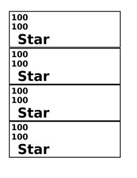Star Bucks Money $100