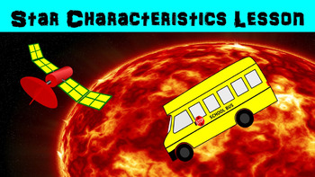 Star Characteristics No Prep Lesson with Power Point, Work