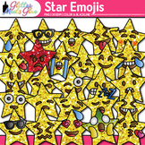 Star Emoji Clip Art - Emoticons and Smiley Faces - Brag Ta