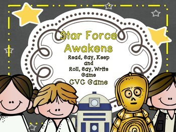 Star Force Awakens - Read, Say, Keep, and Roll, Say, Write