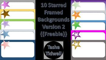 Star Frames Background Version 2 {Freebie}