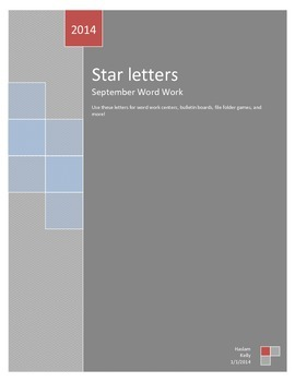 Star Letters